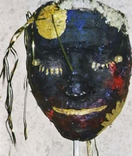 painted mask